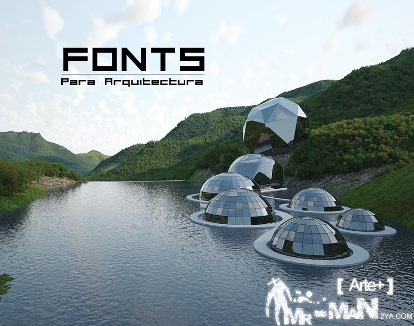 Font - Tipografía para Arquitectura | [ Arte+ ]