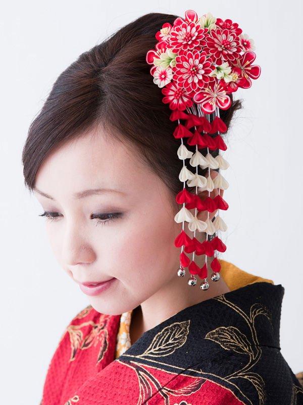 Как сделать китайские цветы 652