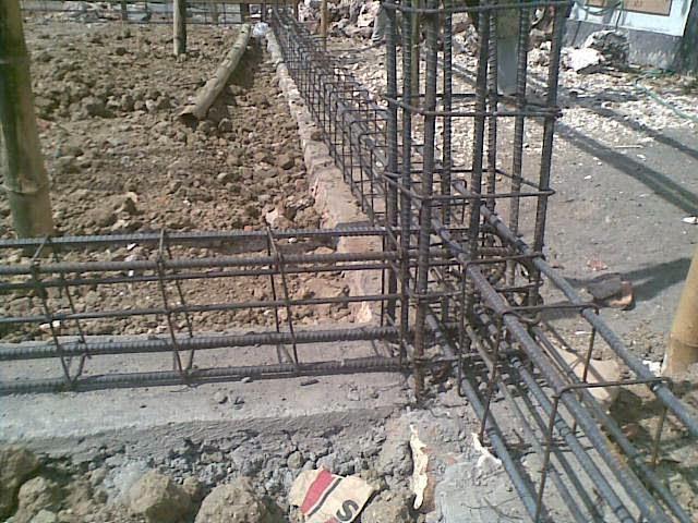 Menghitung kebutuhan besi beton