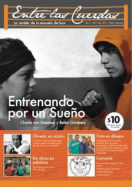 """2º número de la Revista """"Entre las Cuerdas"""""""