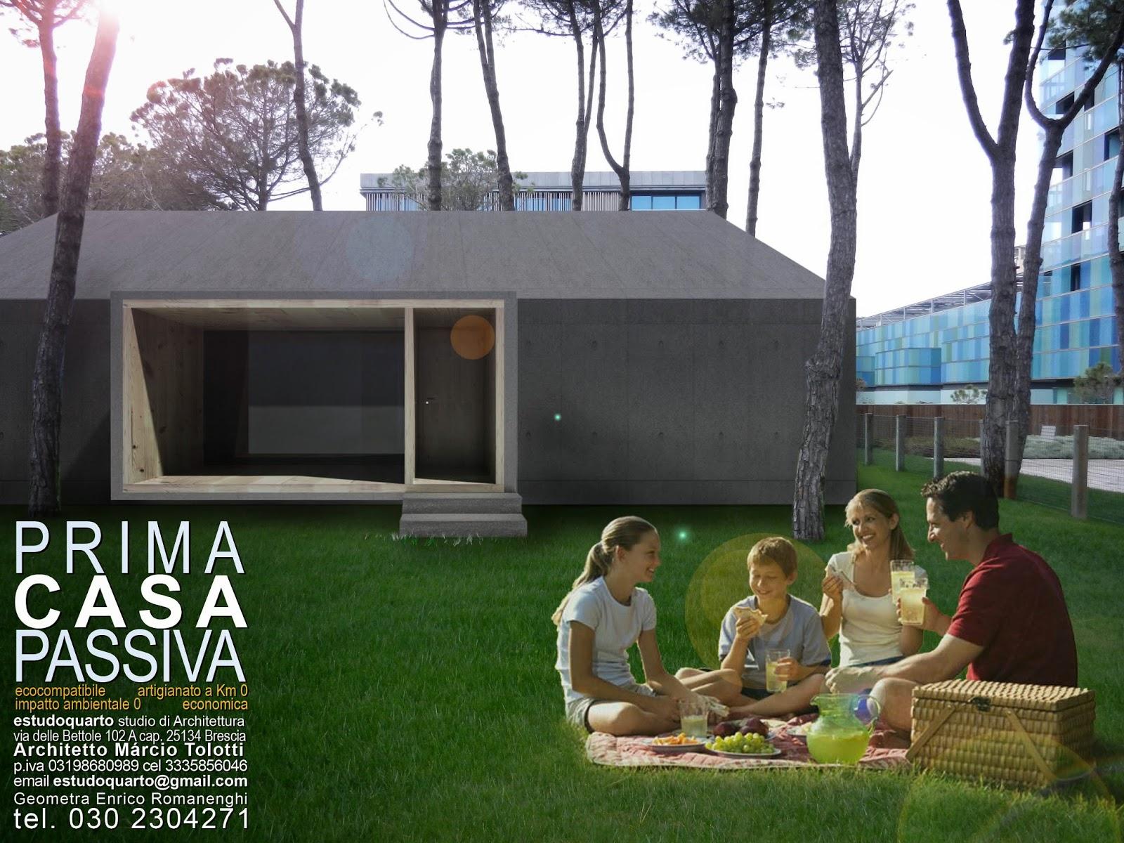 Riscopri il legno con prima casa passiva studio di - Costo architetto costruzione casa ...