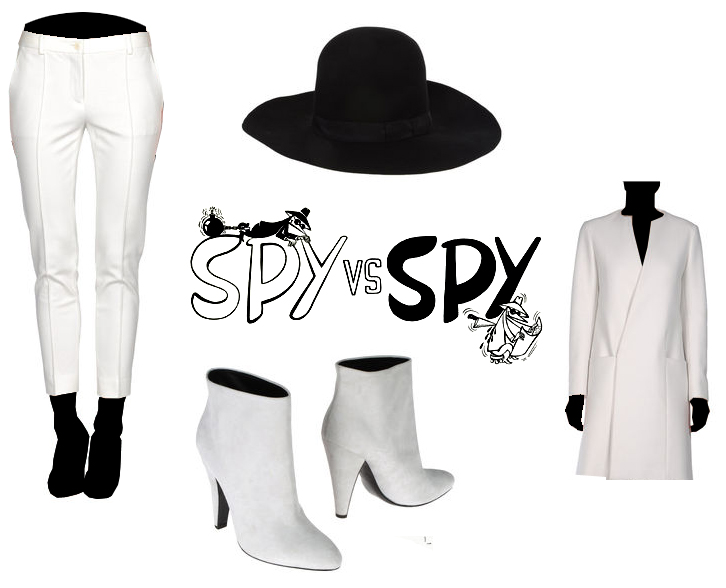 High-Fashion Spy vs. Spy Halloween Costume