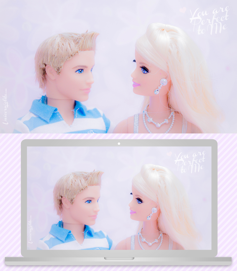 Wallpaper Barbie ken valentines day