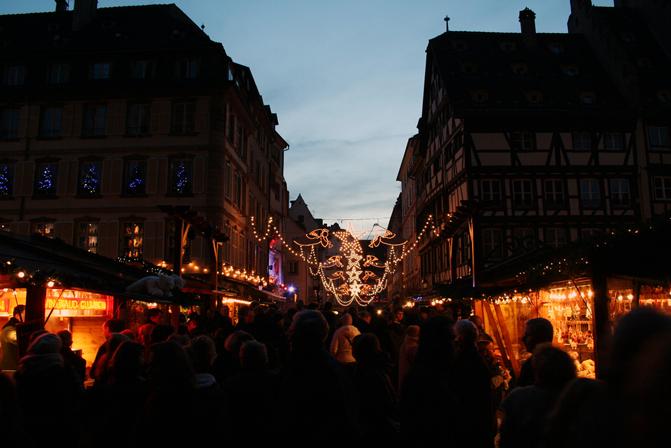 Estrasburgo mercadillo navideño