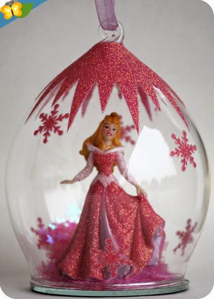 Boules de Noël princesses Disney : Aurore