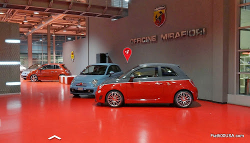 Abarth Headquarters Showroom
