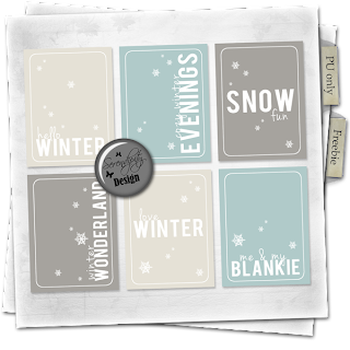 Freebie Winter cards