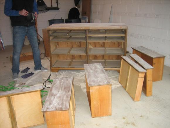 Sanding Furniture