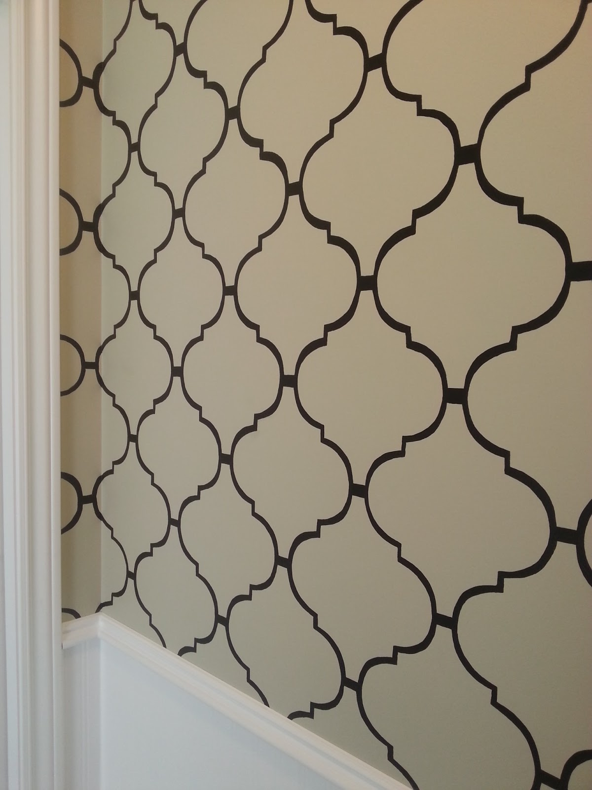 Live from b5 diy moroccan style wall stencil diy moroccan style wall stencil amipublicfo Images