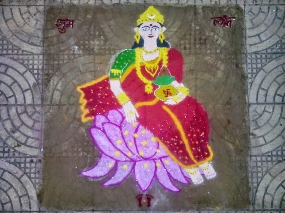 Rangoli Diwali Collection 8