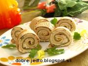 Palacinkové chuťovky - recept