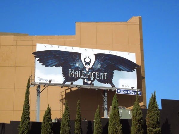Disney Maleficent special movie billboard