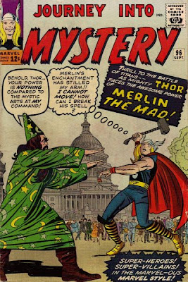 Journey Into Mystery #96, Thor vs Merlin