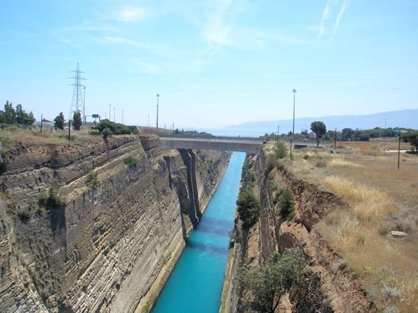 Corinth Canal  Most Beautiful