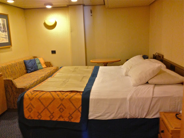 Interior Stateroom on Holland America Noordam