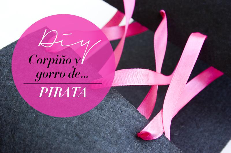 DEF DECO: Decorar en familia_Disfraz de pirata express: gorro y corpiño1