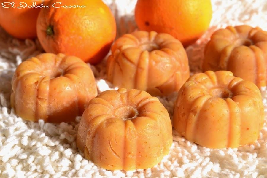 curso de elaboracion de jabones con naranjas frescas