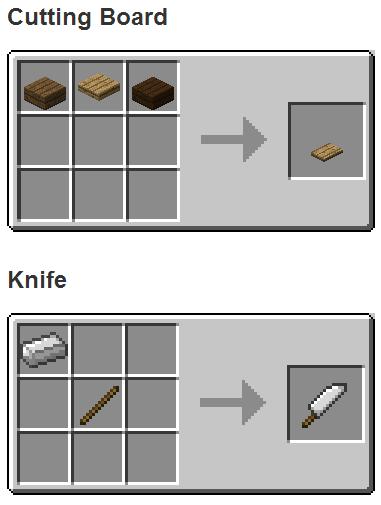 Crafteos - The Kitchen Mod para Minecraft 1.7.2/1.7.10