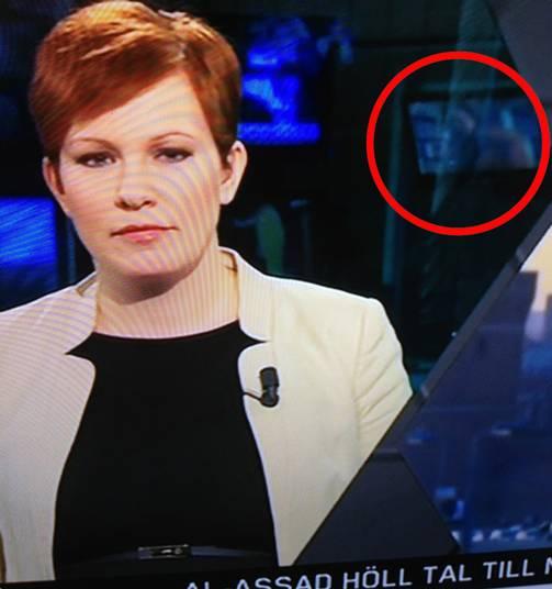 Video porno durante las noticias en Suecia