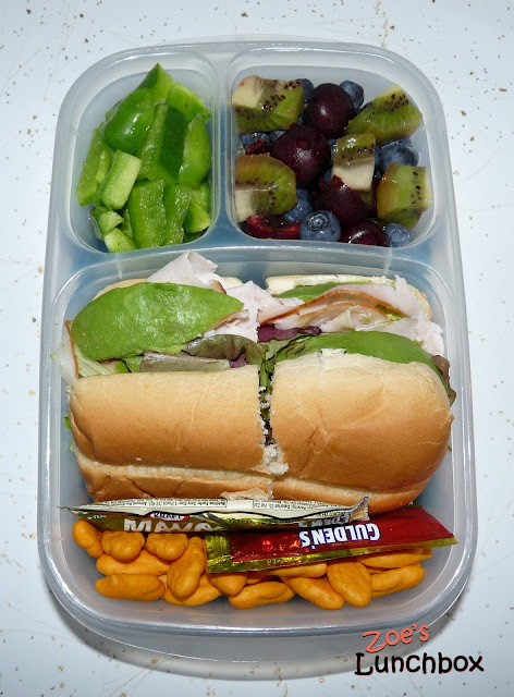 turkey sub easylunchboxes
