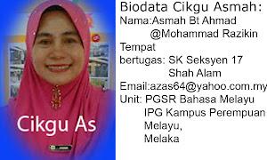 Biodata Cikgu Asmah