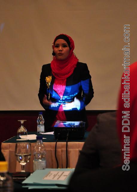 testimonial kejayaan perniagaan premium beautiful ddm adibah bersama cdm hanis dlm seminar ddm di hotel awana genting highlands
