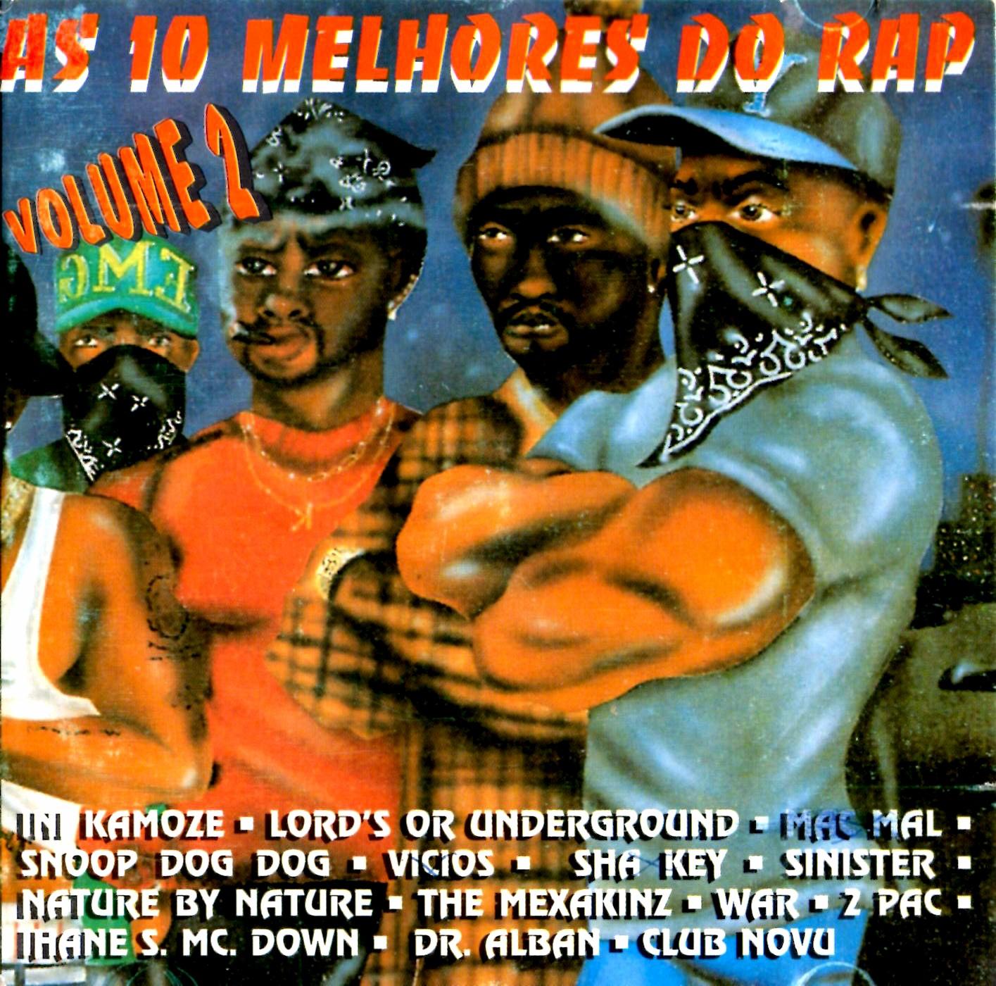 As 10 Melhores do Rap Volume 2 - (1996)
