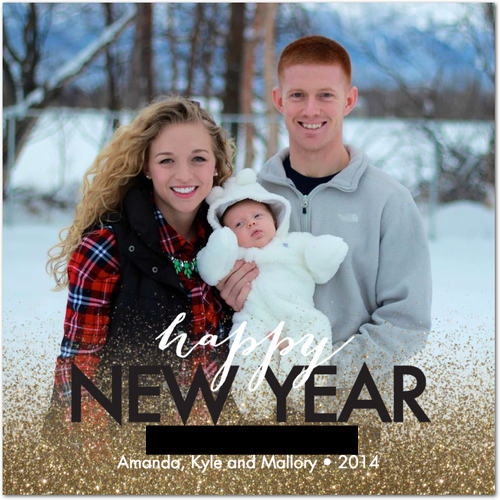 Photo New Years Card