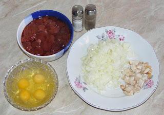 ingrediente pentru prepararea pateului de casa din ficat de pasare, retete culinare, cum se face pate de casa din ficat de pasare,