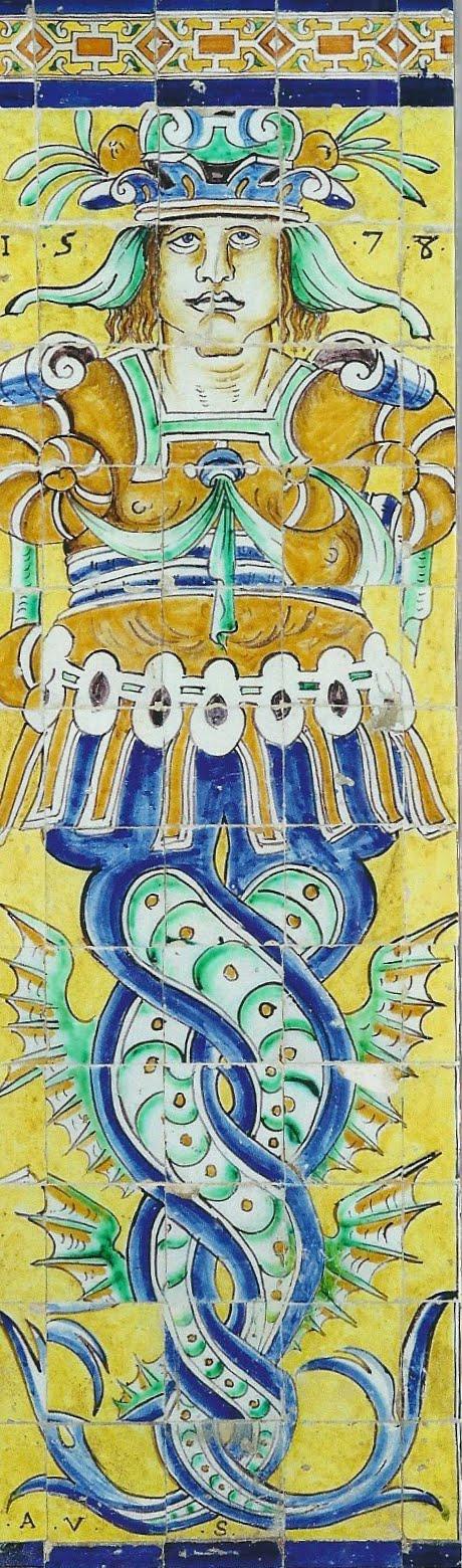 Marcap ginas de mi colecci n real alc zar de sevilla for El rey de los azulejos
