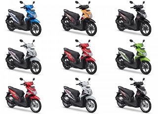 Info Harga dan Spesifikasi Honda Beat Terbaru 2013