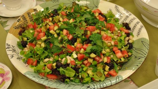 Oktay Usta Fasulyeli Yeşil Salata Tarifi Yeşil Elma