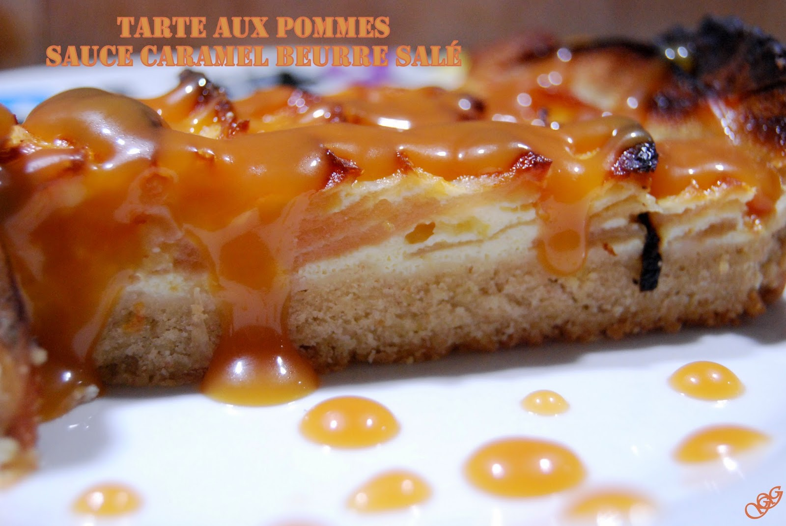 pointgleblog tarte aux pommes sauce caramel beurre sal. Black Bedroom Furniture Sets. Home Design Ideas