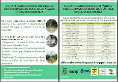 Panfleto de Sena Madureira
