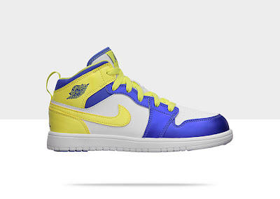 Air Jordan 1 Mid Flex (10.5c-3y) Pre-School Girls' Shoe 555111-118