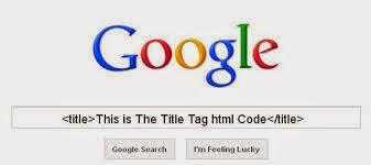 Kata kunci pada title tag