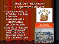 Inauguración de la Cooperativa FRUSAM 11-12