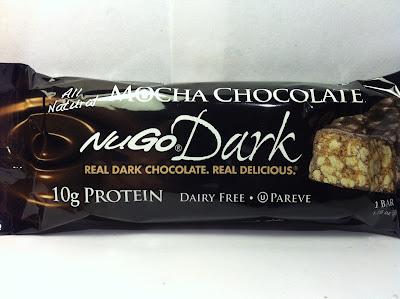 Review: NuGo Dark Mocha Chocolate Bar
