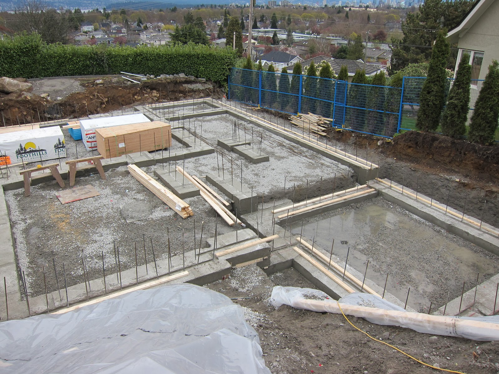 Ronse Massey Developments Qusenel Dr Foundation Footings