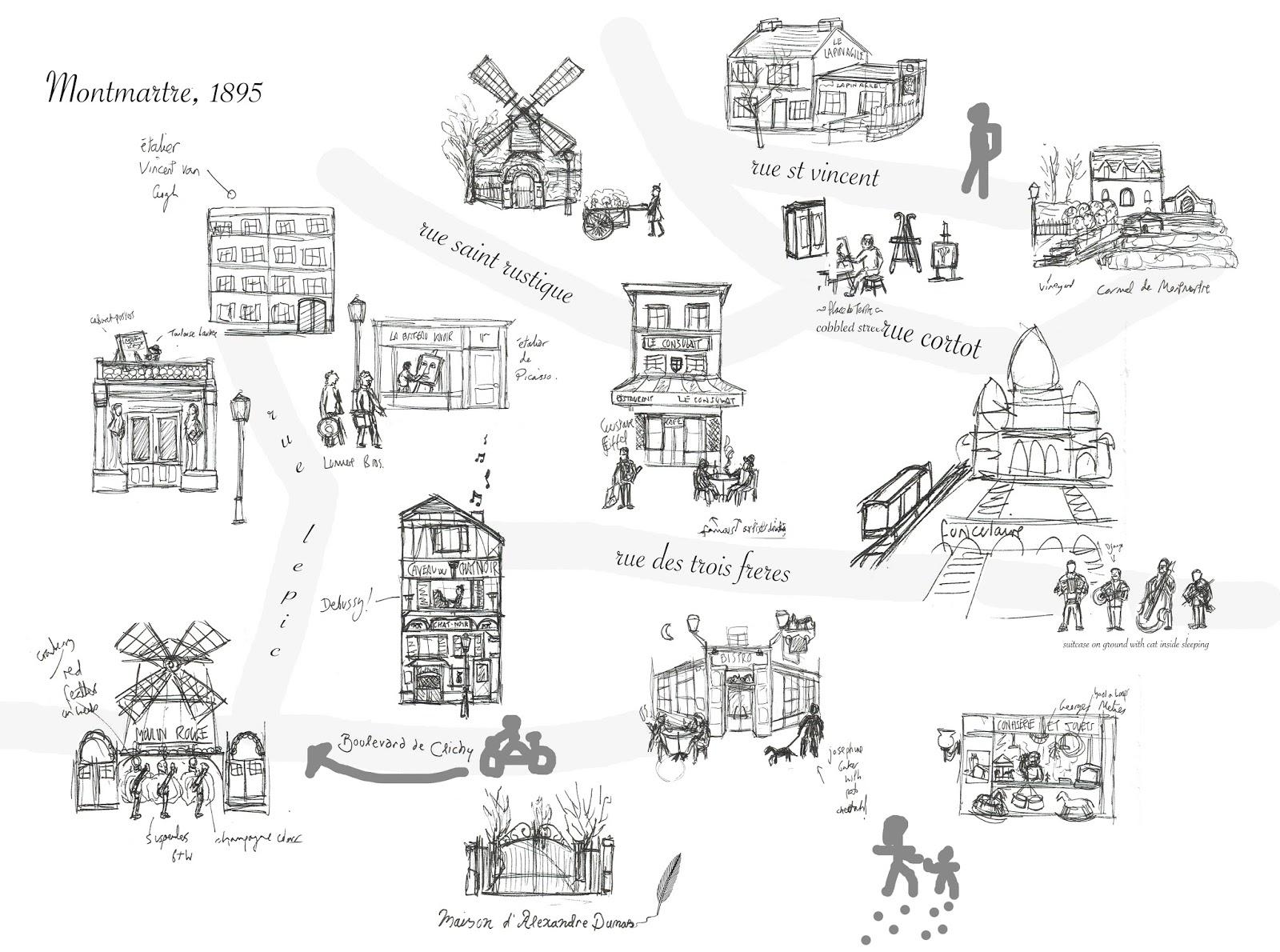 on illustrate map