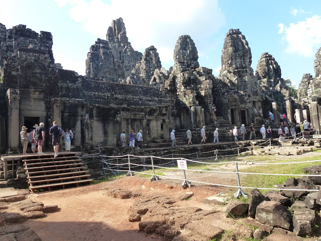 Angkor Thom, the temple of many faces