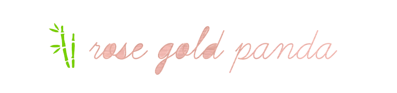 rose gold panda