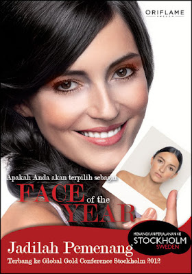 Oriflame Face Of The Year 2012