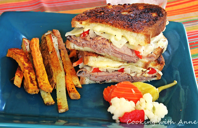 Italian Beef and Grilled Cheese