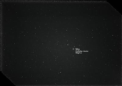 M15 globular cluster canon rebel xt