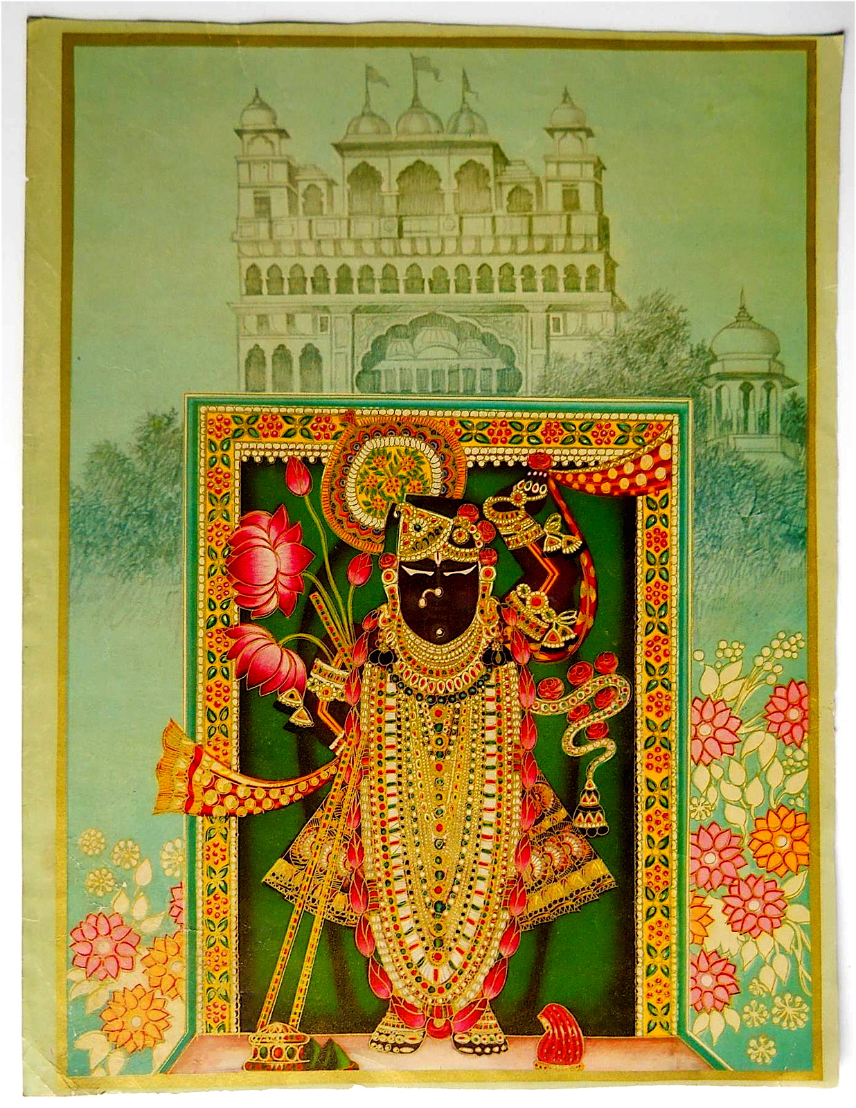 Calendar Art : Shrinathji calendar art found out