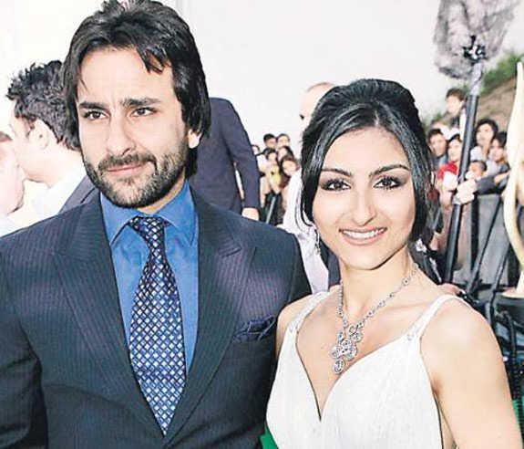 Saif Ali Khan with Sister Soha Ali Khan