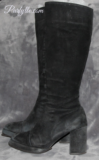 Decluttering boots....finally!
