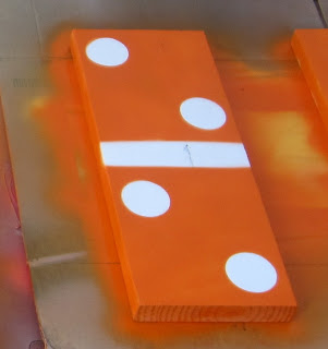 DIY Lawn Dominoes by Home Depot