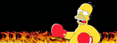 Couverture facebook boxe simpson